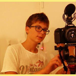 camera video tournage