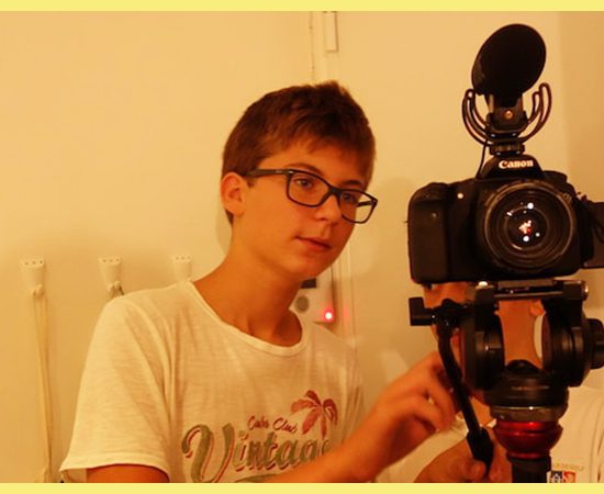 camera video tournage