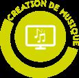 création de musique